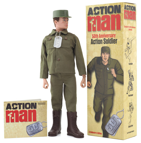 Action Soldier 50th Anniversary Box