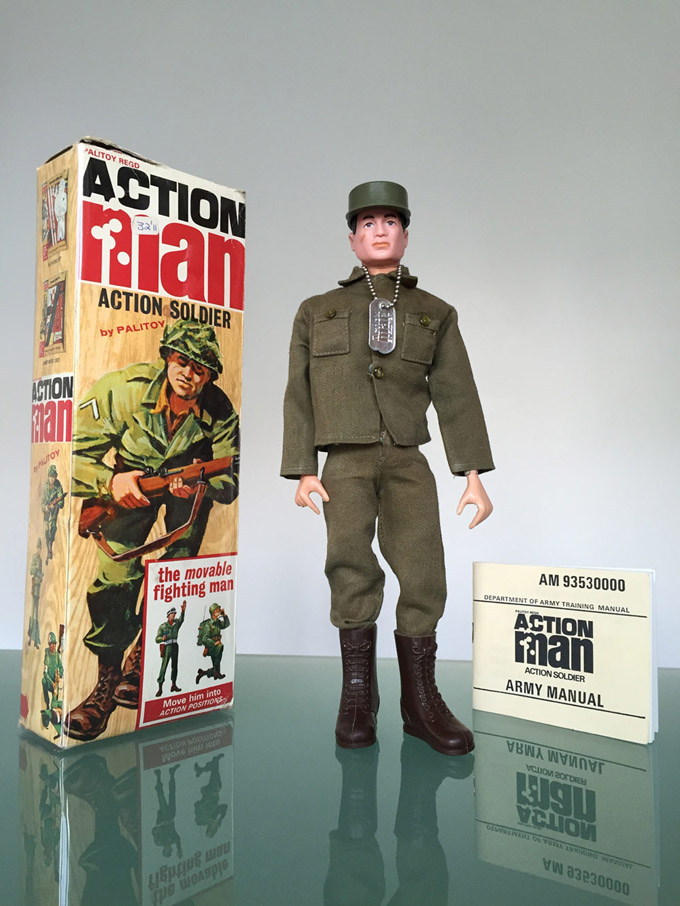 Action Man 40th Box,Paperwork /& Manual Action Solider The Movable Fighting Man